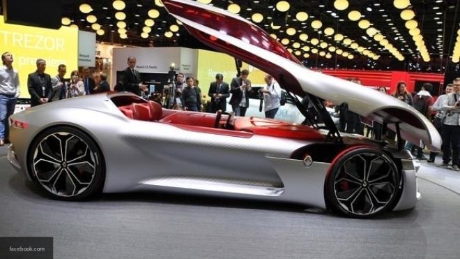 Рэно официально представил концептуальный автомобиль Trezor