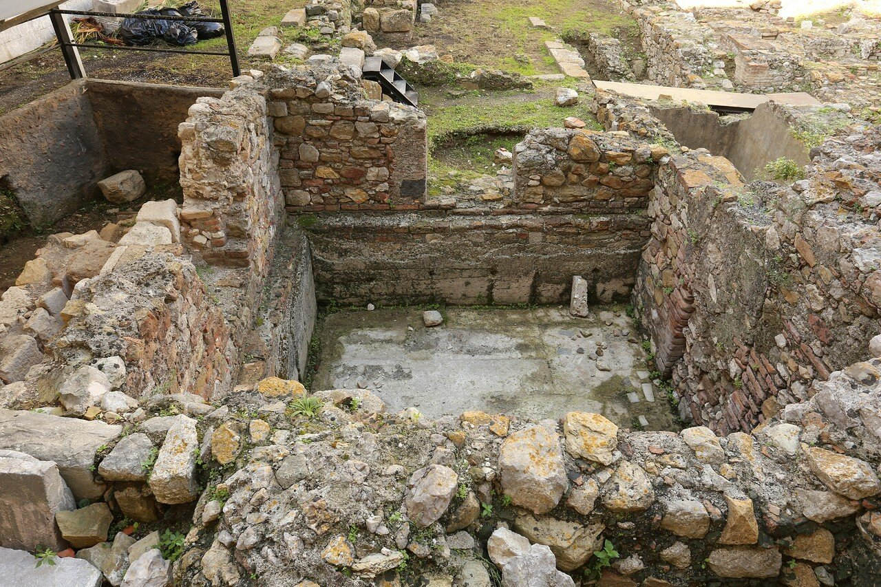 Taormina. Roman baths