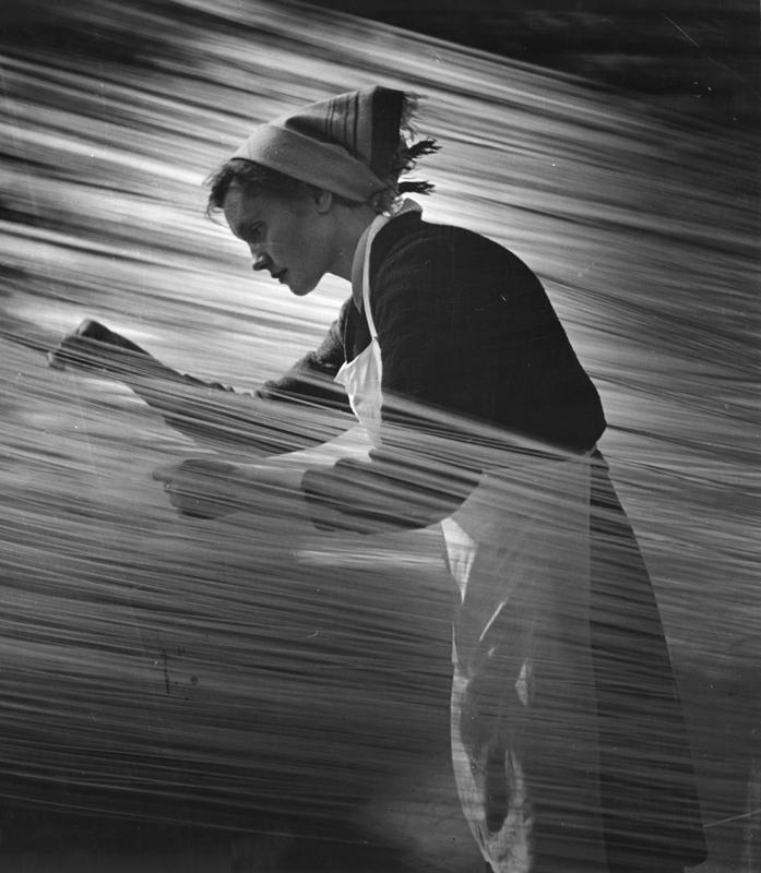 Ритм труда. 1960 год. Фотограф: Николай Маторин.
