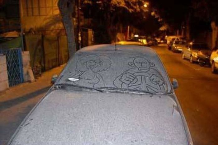 Веселый автомобильный юмор