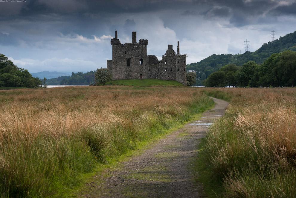 А самый элегантный «рыцарь» — это, конечно, сэр Eilean Donan. Чарующий замок из какой-то далеко