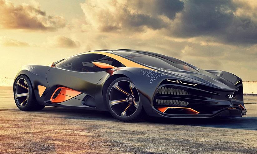 Российский АвтоВАЗ, производящий автомобили