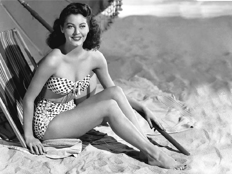 Ава Гарднер, 1950-е.
