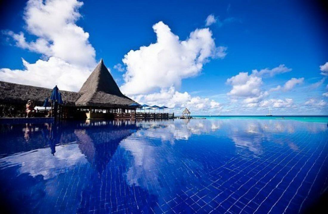 Филиппины. Отель Acuatico Beach Resort.
