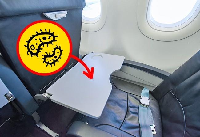 © depositphotos.com  Скопившийся завремя полета мусор частенько оказывается вкармашке вперед