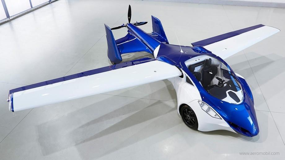 2. На сегодняшний день AeroMobil 3.0 — один из наиболее завершенных проектов летающего автомобиля.