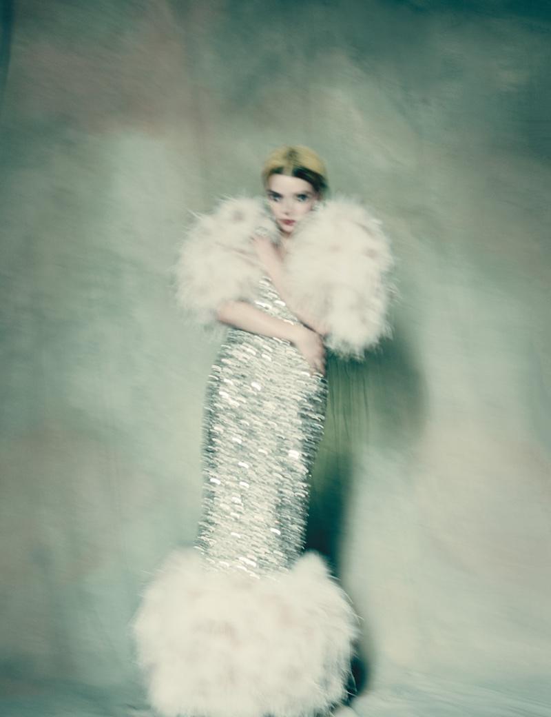 Аня Тейлор-Джой для W Magazine