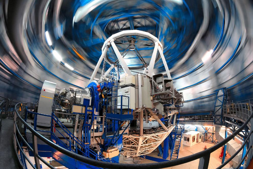 15. Зеркало телескопа совсем не похоже на обычное зеркало, по крайней мере вторичное.  Дефор