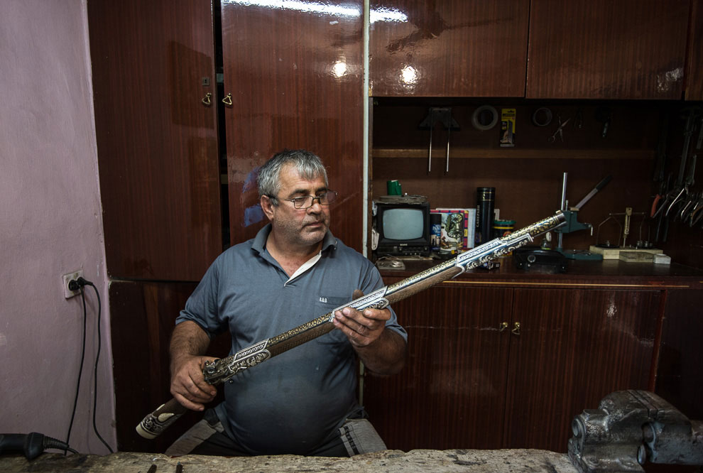 Будучи в Дагестане, мы заглянули проездом в город Кизляр. На полчаса нас пустили посмотреть про