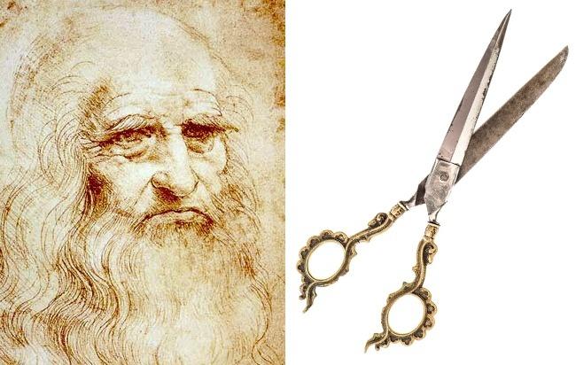 © Leonardo da Vinci  © depositphotos  Довеликого мастера ножницы выглядели иначе ибыли