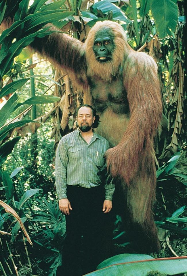 © imgur  Гигантопитеки— самые крупные человекообразные обезьяны всех времен. Они жили около 1