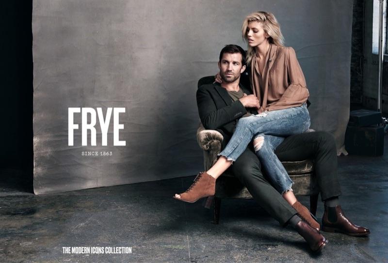 Девон Виндзор и Люк Рокхолд в рекламе FRYE (5 фото)