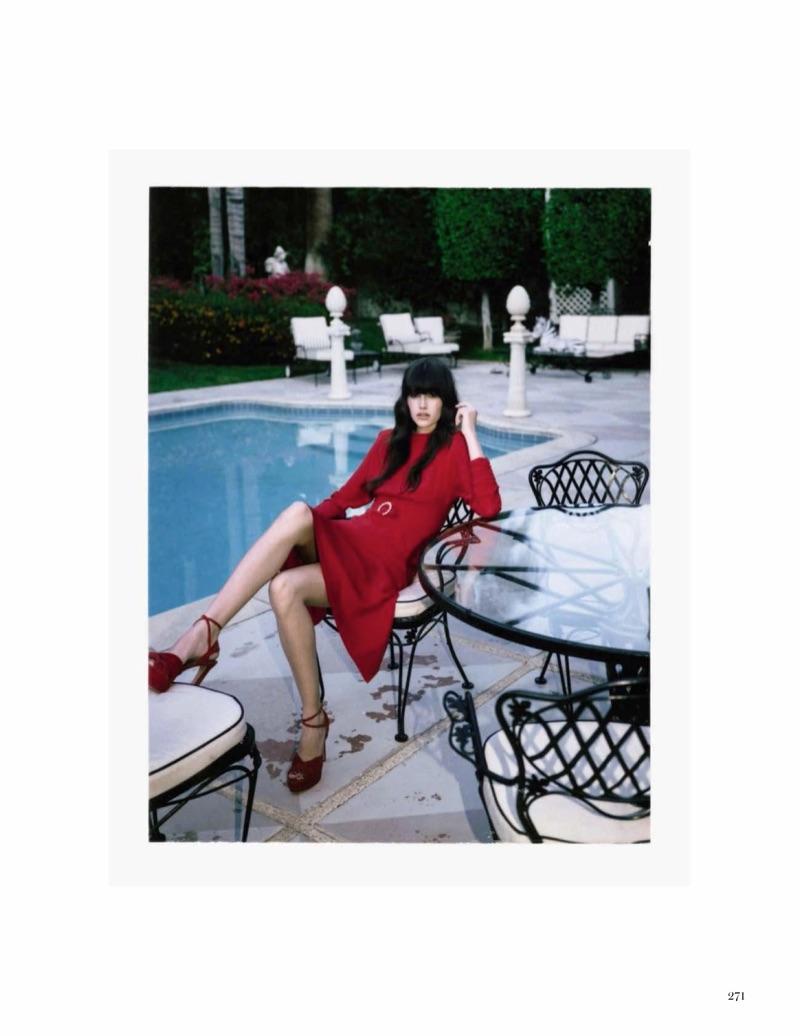 Ванесса Муди для Vogue Spain