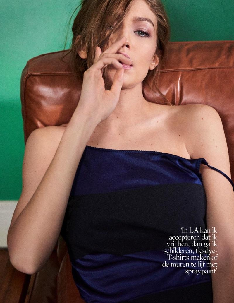 Джиджи Хадид в Vogue Netherlands