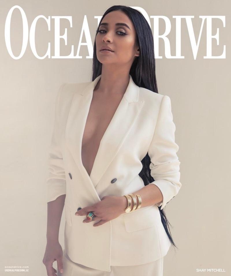 Шей Митчелл в Ocean Drive Magazine