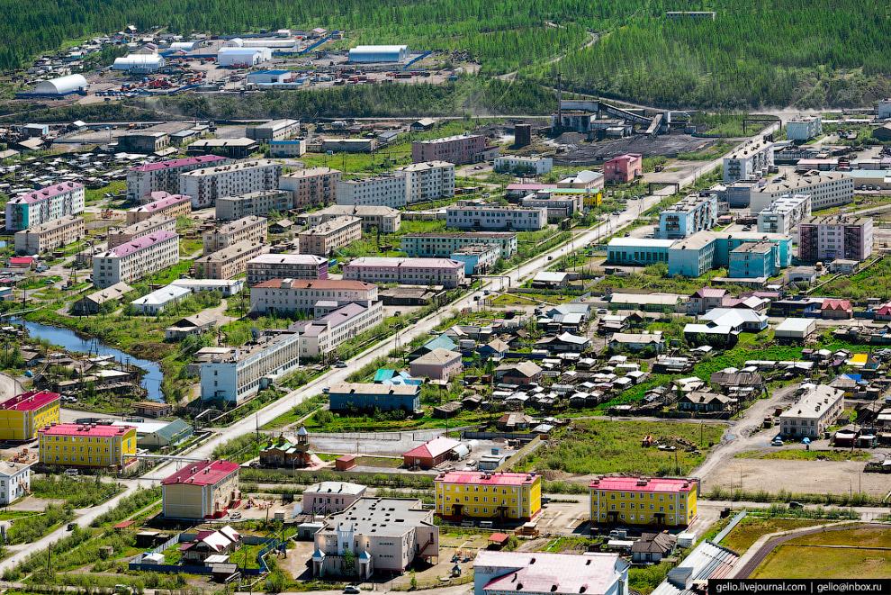 6. Посёлок Усть-Нера строили заключенные. До конца 50-х годов здесь был центр так называемого Индиги