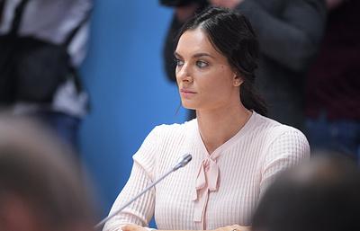 Елена Исинбаева: «Вэтом году мывсей командой добьемся соотношения  условиям  ВАДА»