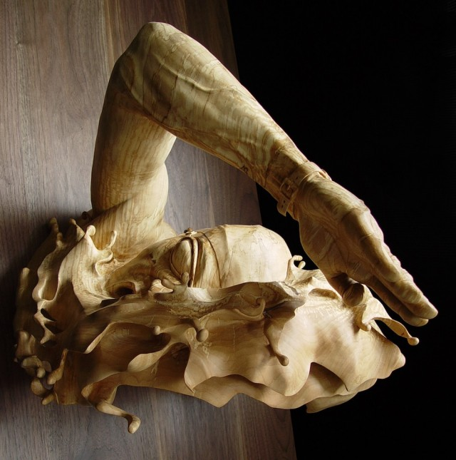 Movement Expression Wooden Sculptures (5 pics)