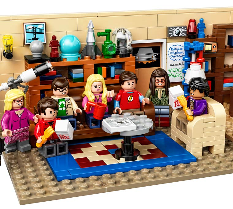 LEGO Big Bang Theory – Leonard, Sheldon, Penny and the others are coming as minifigs (4 pics)