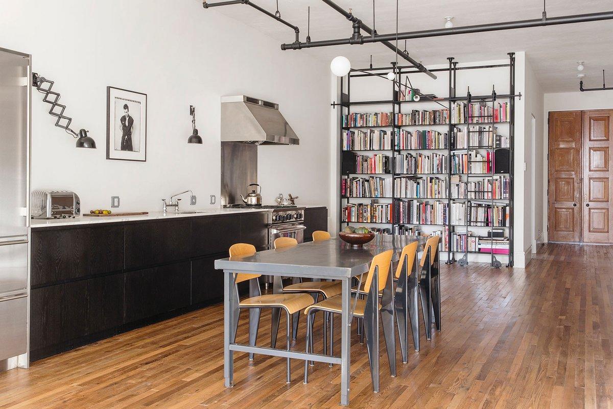 Обновленная квартира на Манхэттене