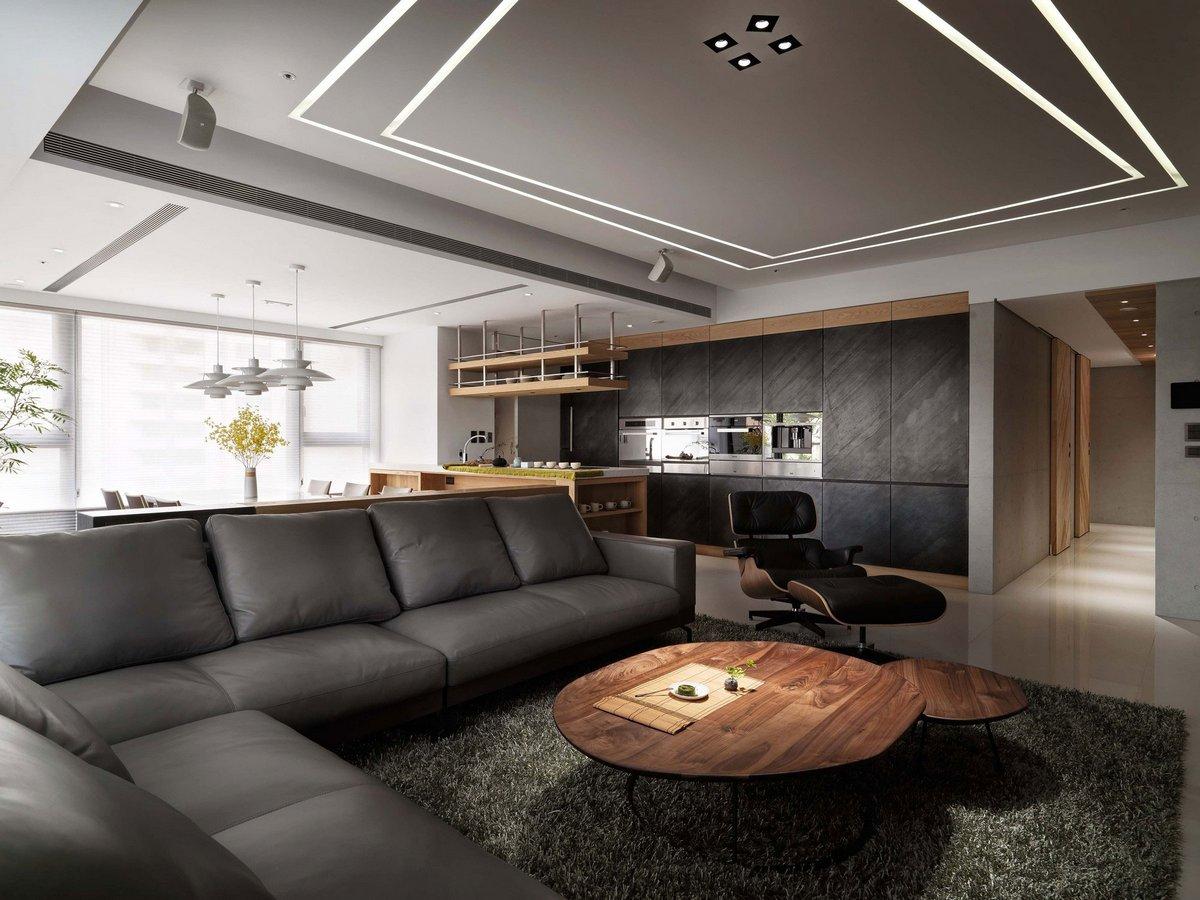 Комфортабельные апартаменты от Ryan Lai Architects