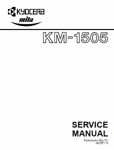 service - Инструкции (Service Manual, UM, PC) фирмы Mita Kyocera 0_13829f_c28b6b1_orig