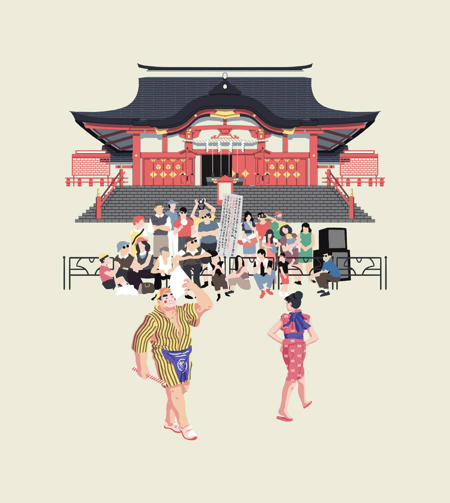 Dreamlike Illustrations of Japan by Nicolas Vaudour