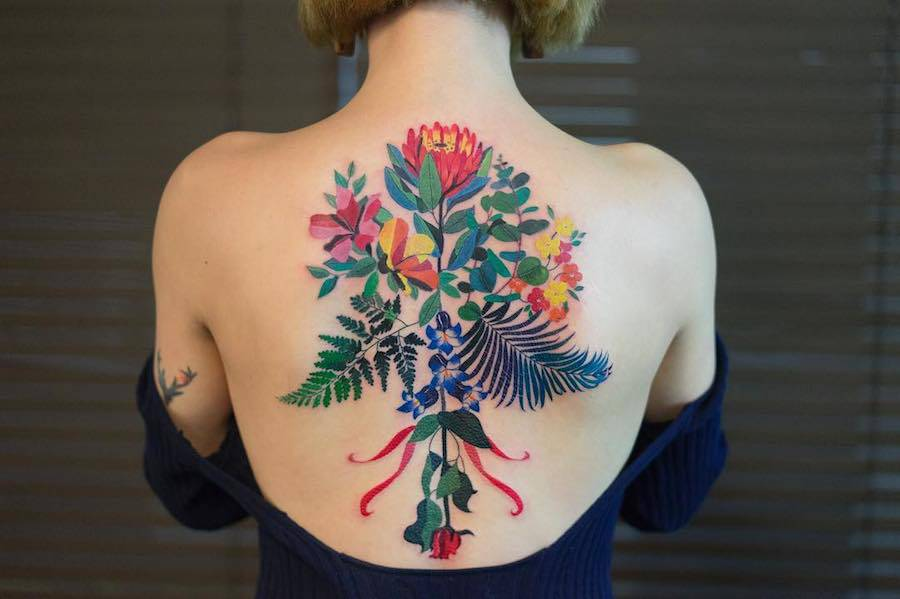 Delicate and Cute Ornamental Tattoos (11 pics)