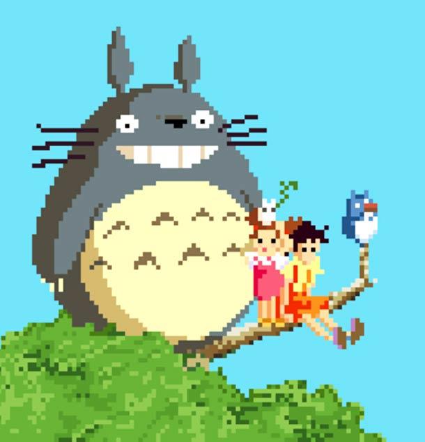 8-bit Ghibli - Hommage aux films de Miyazaki par R. J. Evans