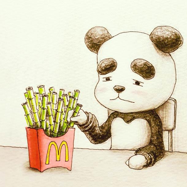 33 illustrations mignonnes et decalees du japonais Keigo (33 pics)