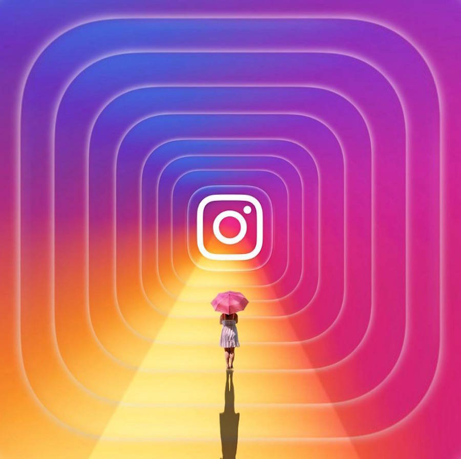 Creations inspired by Instagram New Logo