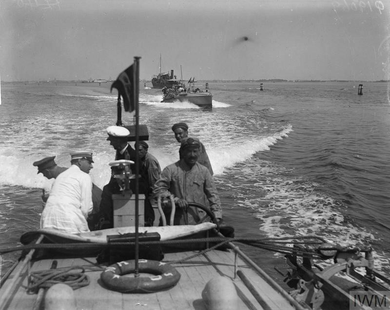 THE ITALIAN NAVY IN THE MEDITERRANEAN, 1915-1918