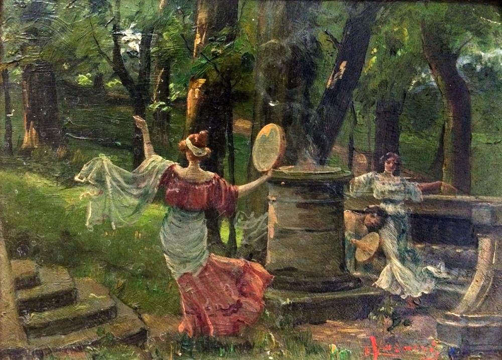 La danse au tambourin