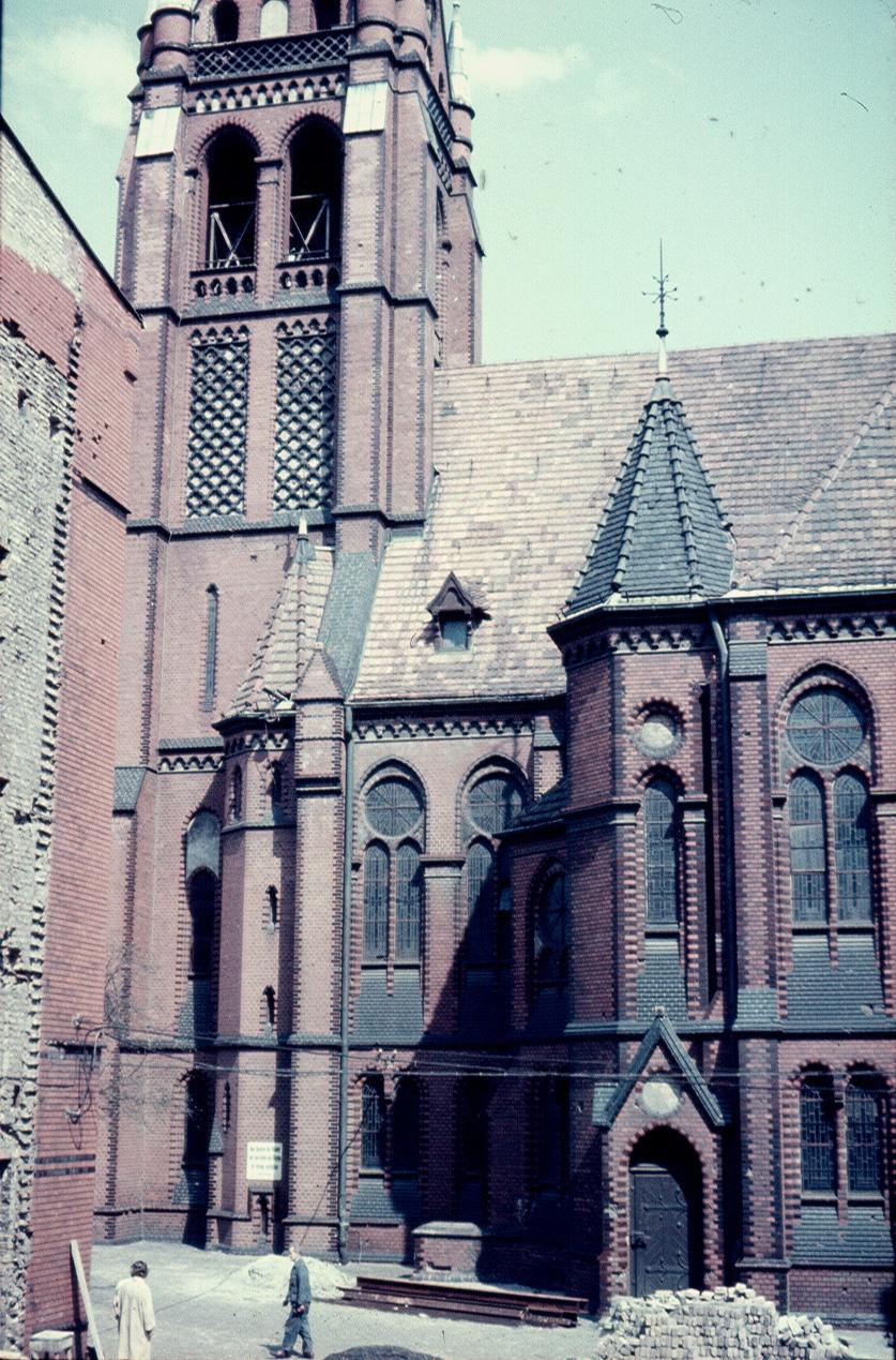 Берлин. Церковь