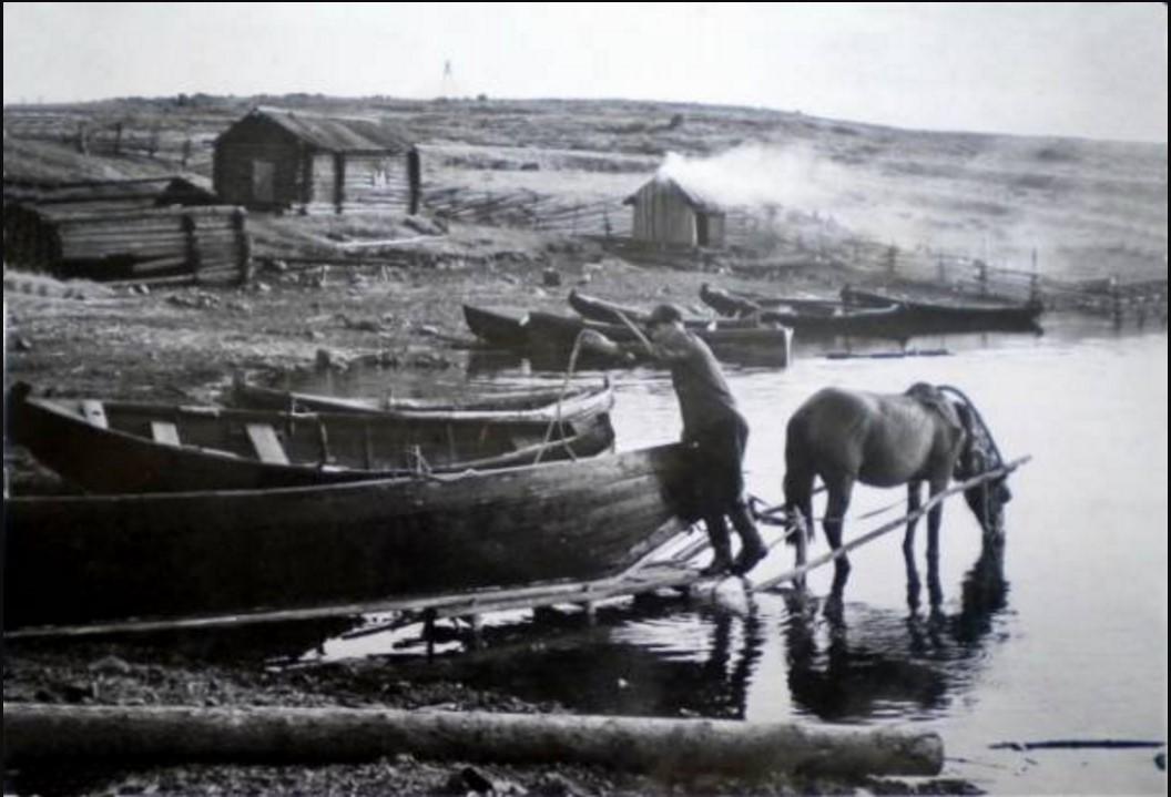 Лычный остров. 50-е годы