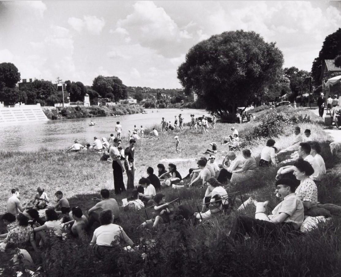 1956. На берегу Марны