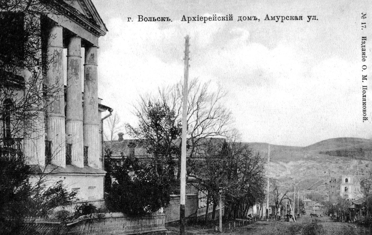 Архиерейский дом и Амурская улица