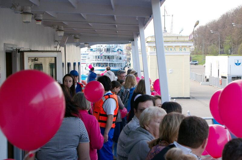 Московский круизный лайнер Княжна Анастасия