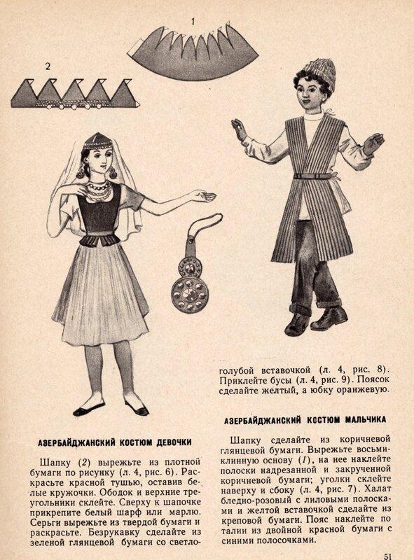 Азербайджанские костюмы