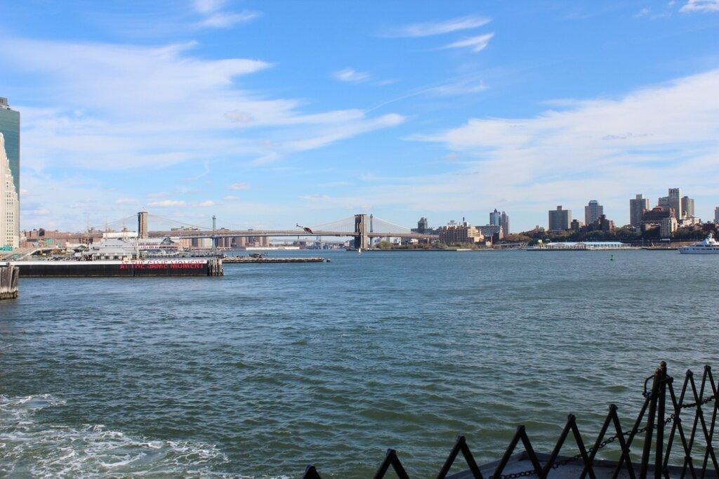 На кораблике вокруг Манхеттена