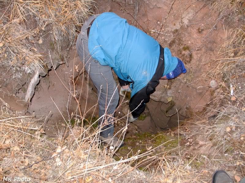 Вход в пещеру на горе Фрунзе