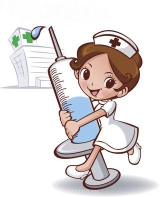 Медсестричка и шприц