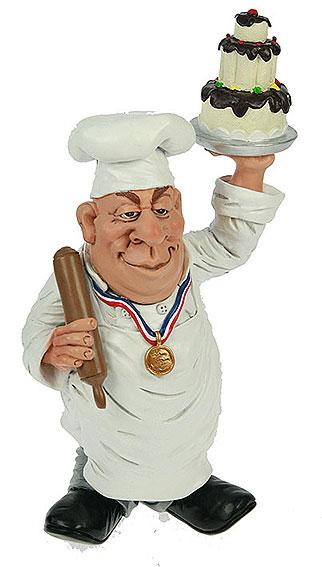 День кондитера! Кондитер с тортом открытки фото рисунки картинки поздравления