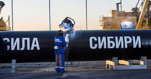 «Газпром» доконца года планирует утвердить условия поставки газа в КНР