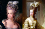 Прическа французской королевы Марии-Антуанетты