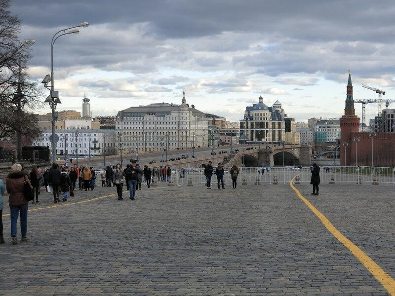 Москва, Васильевский спуск