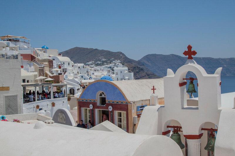 На о. Санторини. Греция