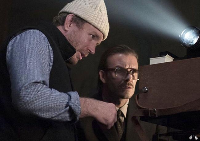 Дэвид Бекхэм, «Агенты А.Н.К.Л.» Футболист появляется в самом начале знаменитой картины Гая Ричи в ро