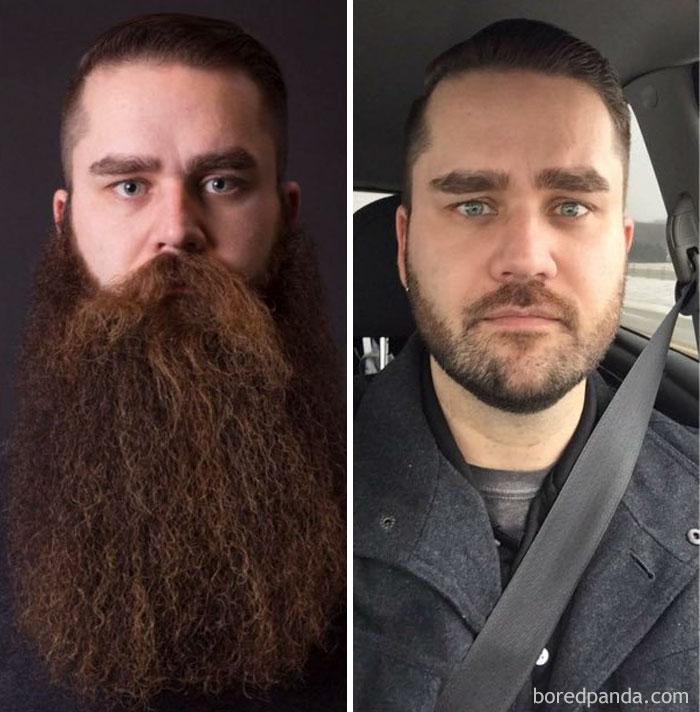 «Друг прожил с бородой три года и все-таки сбрил ее».