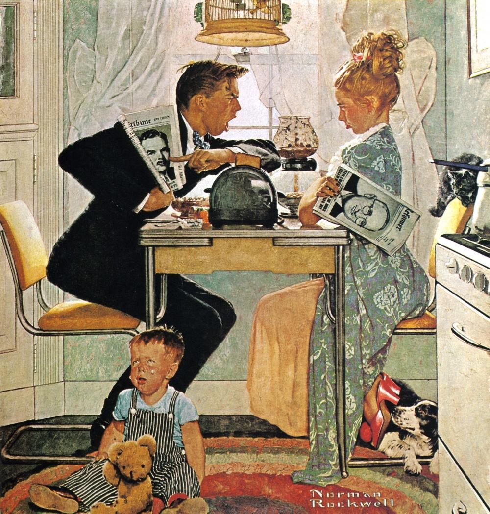 2 ноября 1948 года — день выборов президента США. Главные претенденты — Гарри Трумэн и знаменитый гу